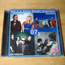 Hit's a Sony 2008 July JAPAN Promo CD Zebrahead, MGMT, Offspring... #D01