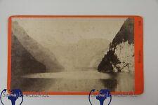 original CDV Foto Königsee um 1890 auf Pappe