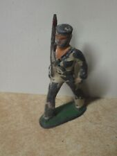 VINTAGE ANTIQUE MANOIL BARCLAY LEAD TOY SOLDIER NAVY SOLDIER MARCHING RIFLE