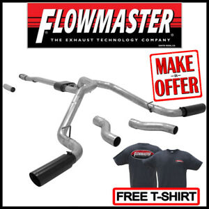 """Flowmaster Outlaw 3"""" Cat-Back Exhaust Kit 2014-2019 GMC Sierra 1500 LIMITED 5.3L"""