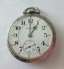 Jewel 992 Railroad Pocket Watch High Grade Antique Hamilton 21