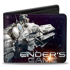 Authentic ENDER'S GAME Launch Battleship International Fleet  Bifold Wallet NEW