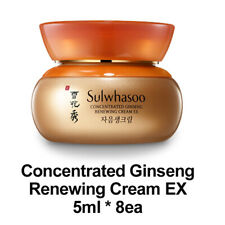 [Sulwhasoo] Concentrated Ginseng Renewing Cream EX 5ml * 8EA - Genuine Sample