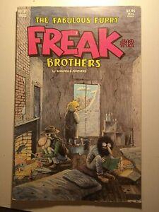 Underground Comic The Fabulous Furry: Freak Brothers#12