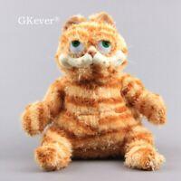 Garfield The Fat Cat Plush Toy Stuffed Animal Doll Cuddly Pillow 10'' Teddy