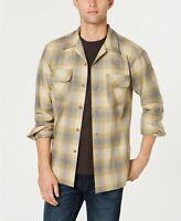 Pendleton Men's Board Shirt Surf Green/tan Ombre Medium