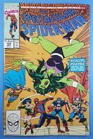 Spectacular Spider-Man #168 Spidey vs She-Hulk & Avengers Marvel Comics 1990