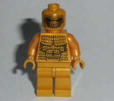 BATMAN #22G Lego Killer Croc Pearl Gold Statue NEW custom Super Hero