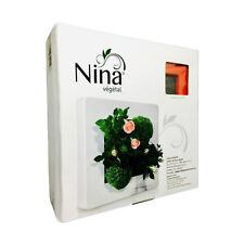 Cadre Nina Végétal 24x24cm Rouge Carmin (tableau décoration à végétaliser)