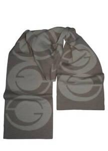 Gucci Sciarpa Beige 25 X 178 cm Motivo GG