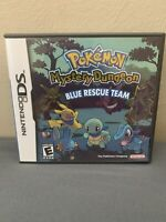 Pokemon Mystery Dungeon: Blue Rescue Team (Nintendo DS, 2006) Boxed