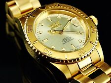 Invicta Men's Executive Unadjusted Automatic 21 Jewel Champagne Dial SS Watch