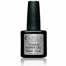 QUTIQUE Gel Nail Polish Colour -BASE COAT -UV & LED -Salon Quality Primer