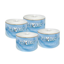 200 PC PlexDisc 52X 700 MB 80 MIN CD-R White Inkjet Hub Printable Disc 601-200
