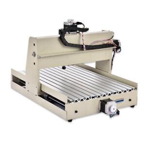 28KG 4AXIS CNC Router Engraver Milling Drilling Machine 3D Desktop Cutter Wood