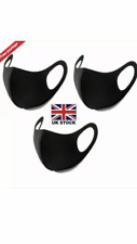 3 x Reusable Mouth Face Mask Protection Anti-Dust UK - ***FAST DELIVERY***