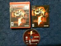 Resident Evil 5 PS3 Complete with Manual CIB Greatest Hits Good Condition