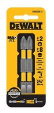 Bulk Box Of 100 New DEWALT - 2 in. SL8/PH2 Bit Tip (2-Pack)