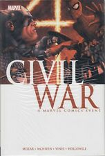 CIVIL WAR MARVEL COMICS by MARK MILLAR HARDCOVER SEALED