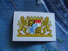 Aufkleber Bayern Bundesland Miniaufkleber 3,5 x 2,3 cm Sticker Mini Sticker