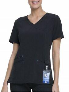Scrubstar Women's Fashion Premium Performance Mock Wrap Scrub Top