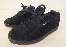 Vision Street Wear Black Suede Skateboarding Shoes US Women's 8.5 EU 40 LOOK