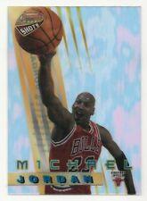 1996-97 Bowman's Best Shots Michael Jordan Acetate Card #BS6 Chicago Bulls HOF
