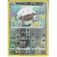 153/202 Wooloo | Common Reverse Holo Card Pokemon TCG Sword & Shield (Base Set)