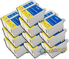 10 conjuntos t040/t041 Compatible no-OEM Cartuchos De Tinta Para Epson Stylus C62 cx3250