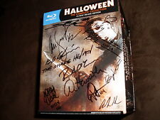 Halloween Complete 15 Disc Deluxe Blu Ray Box Set signed by John Carpenter + 18