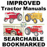 International Harvester 2504 330 340 504 Tractor Service Shop Manual Case IH CD
