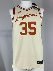 NWT Nike Men's Texas Longhorns Retro Kevin Durant NCAA Basketball Jersey Small