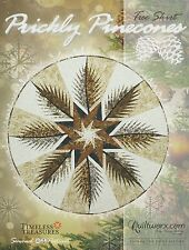 Prickly Pines Foundation Paper Pieced Tree Skirt by Judy Niemeyer
