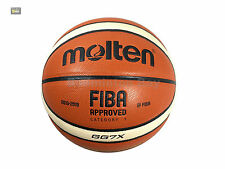 New Official Molten GG7X BGG7X Basketball Sports Composite Leather FIBA Approved