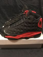 buy popular f8bf9 0a0ae Nike Air Jordan 13 XIII Retro Bred (414571-010)Black Varsity Red size
