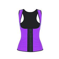 Women Latex Rubber Waist Trainer Cincher Underbust Corset Body Shaper Shapewear