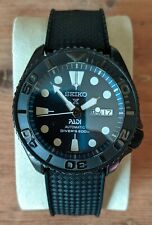 Seiko skx007 Automatic Divers Watch Black Ceramic and Sapphire