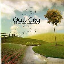 OWL City-All Things bright and beautiful CD (2011)