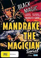 Mandrake The Magician (DVD, 2010, 2-Disc Set) - Region Free