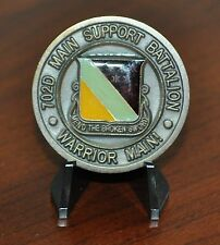 US Army 2nd Infantry Division 702nd Main Support Battalion Challenge Coin Korea