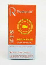 Radiance Brain Ease with Pantothenic Acid and Gaba 60 Vegetarian Capsules