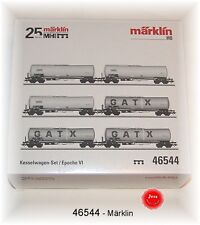 Märklin 46544 Kesselwagen-Set der GATX Rail GermanyGmbH 6-teilig #NEU in OVP#