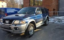 Mitsubishi Pajero Sport 2001-2006 | MARCHE-PIEDS INOX PLAT / PROTECTIONS LATERAL