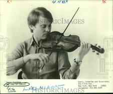1986 Press Photo Violinist Simon Standage of The English Concert - nop26897