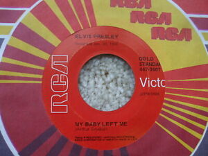 Elvis Presley - My Baby Left Me / I Want You I Need - Red Label - GSS 447-0607