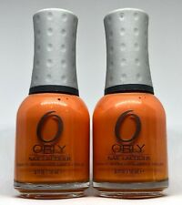 Orly Nail Polish LIFE'S A PEACH 40659 Creamy Tangerine Orange Lacquer