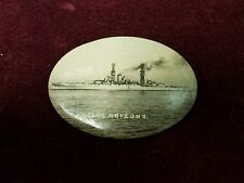 Rare Advertising Mirror of USS Arizona Vintage