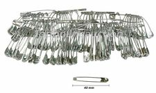 100pc 40mm Safety Pins Ideal Running Cycling & other Sports Events Nappy Pins