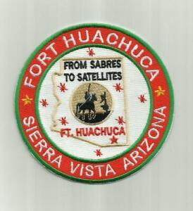 FORT HUACHUCA, SIERRA VISTA ARIZONA, FROM SABRES TO SATELLITES  Y