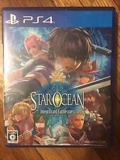 Japanese Import Star Ocean 5 PlayStation 4 (US Seller) USED